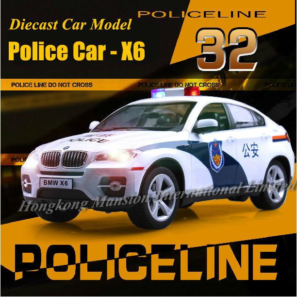132 Police Car Model For BMW X6 (1)