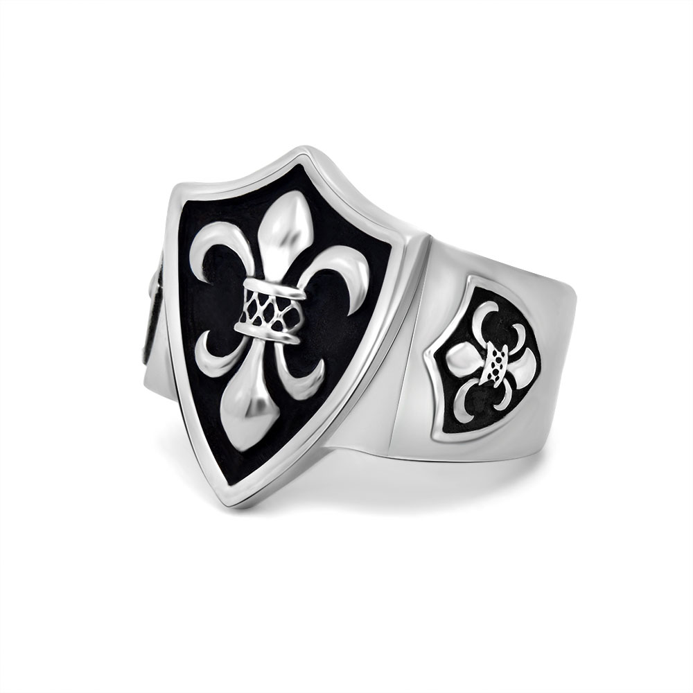 Online kopen Wholesale 2015 man's ring gothic men's uit ...
