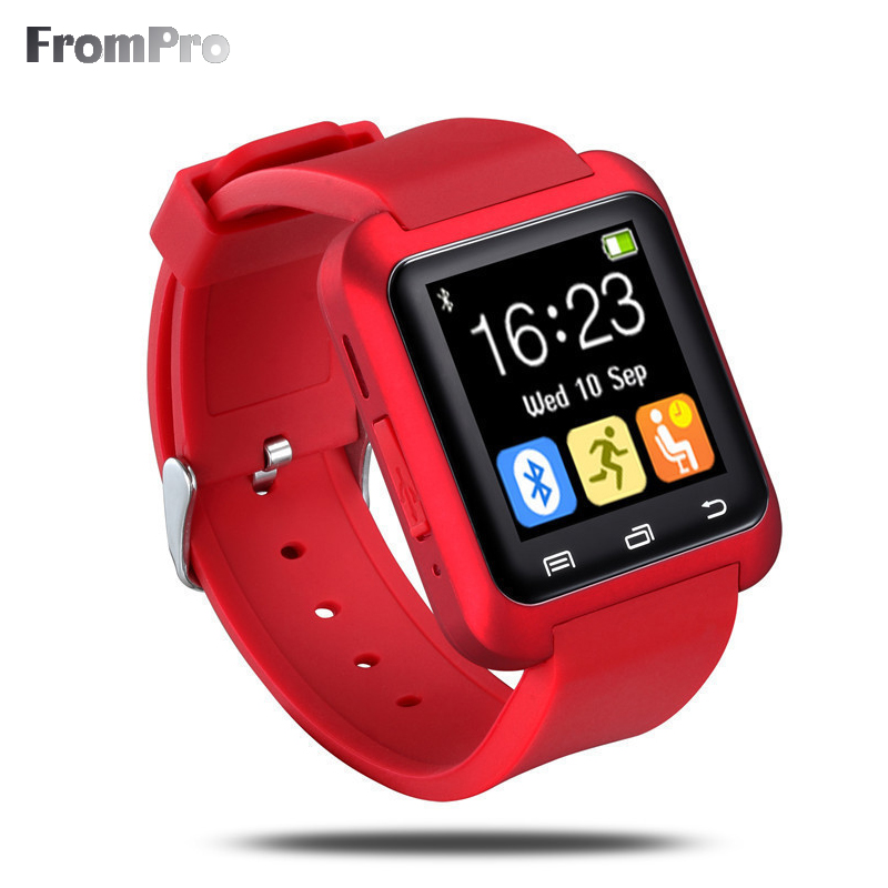 FU80 Bluetooth Smart Watch CHEAP smartwatch GIFT wristwatch with Vibration motor altimeter for Samsung HTC Xiaomi android phone(China (Mainland))