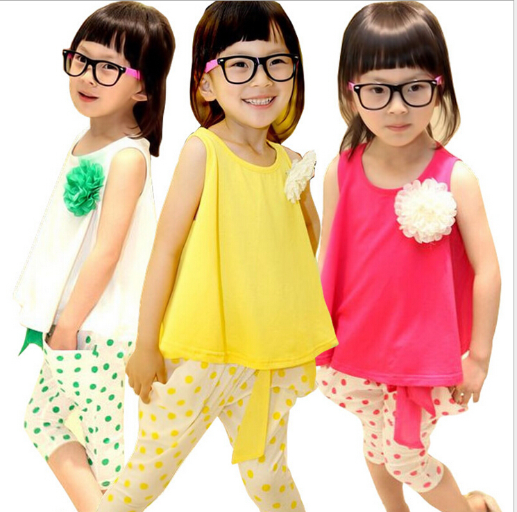 Special offer good girls summer casual style clothing set for Style at home special offer
