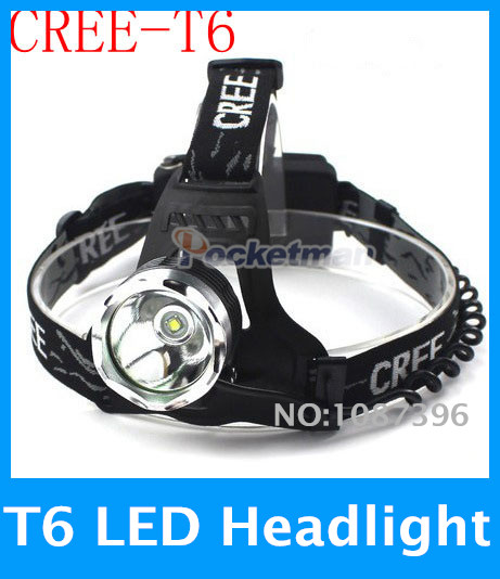 Top Quality 2000 Lumens Headlamp CREE XM-L T6 LED Headlight For 18650 Head Lamp flashlight Torch LED Flashlight Head Light<br><br>Aliexpress