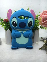 Case ZTE Blade D6 V6/ L2 Plus L3 Apex New Arrive Cartoon Soft Silicon Rubber Cute 3D Blue Stitch Back Protective Cover - Shenzhen BY Girl Trading company Co.,Ltd store