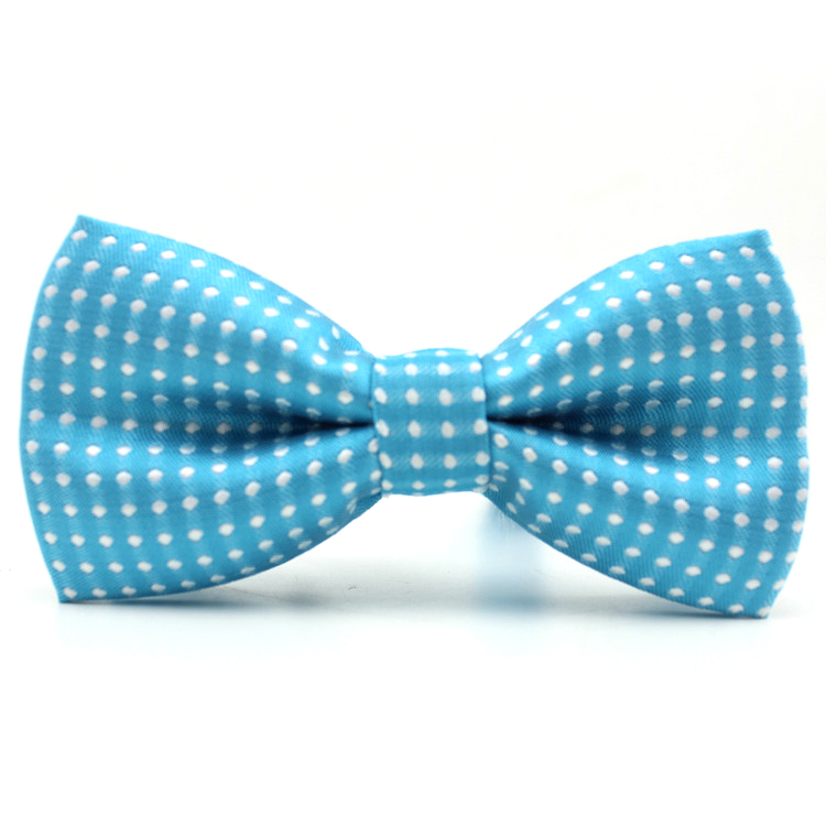 1 piece Hot Sale casual kids collar bow tie polka dot design noble tie boy bowtie