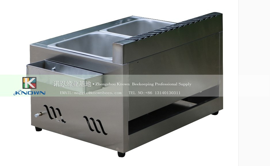 2 tanks 2 basket counter top electric chicken deep fryer, fried chicken wings