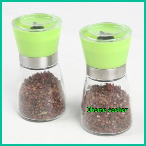 pepper grinder,operated by hand, ceramics core, hot sale, freeshipping