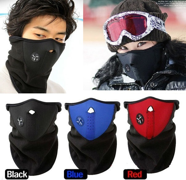 New Fanshion Outdoor windproof Cycling Mask Winter Warm Half Face Winter Ski mask Motorcycle Sport Mask Dust Protecting #69025(China (Mainland))