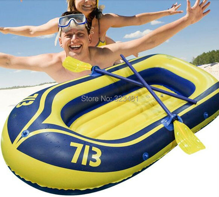 Summer PVC plastic air inflatable boat fishing boat on water sport two man for 1 adult and 1 child free shipping(China (Mainland))