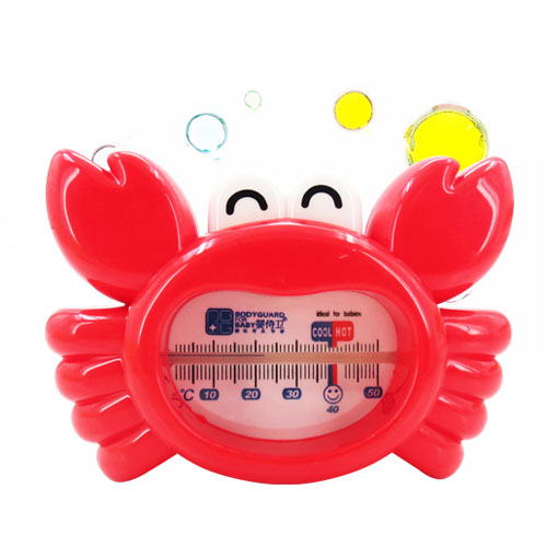 lovely baby bath water thermometer children crab water temperature meter children scale thermometer(China (Mainland))