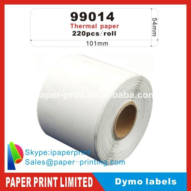 10x Rolls Dymo Compatible Labels 99014 dymo 9014 Mail name badge Seiko labels 54x101mm(China (Mainland))