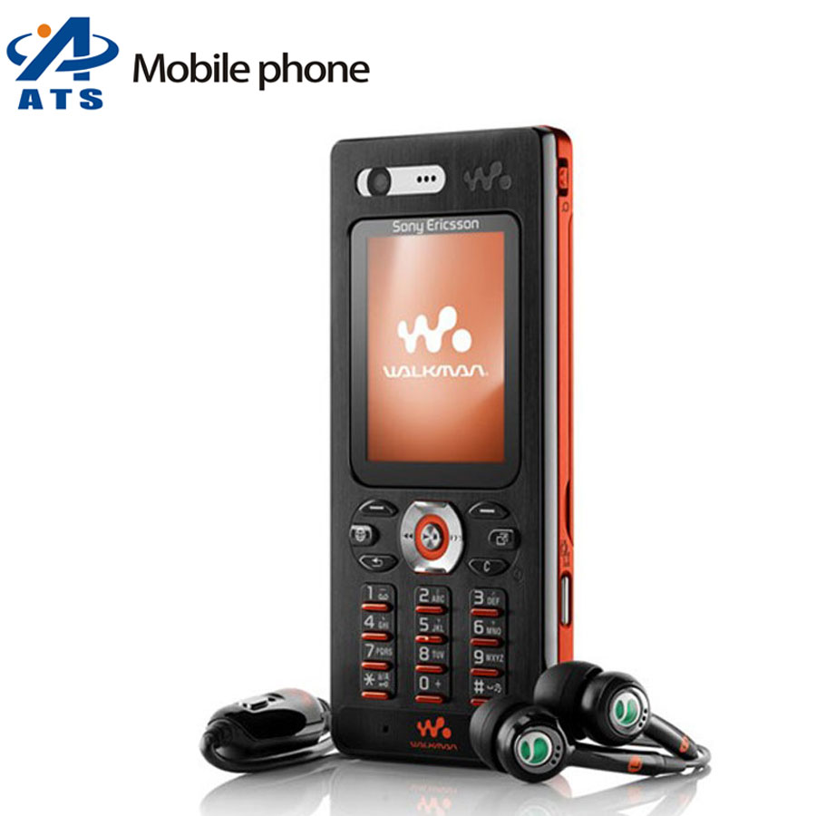 Original Sony Ericsson w880i w880 Mobile Phones 3G bluetooth mp3 player Russian Keyboard Support(China (Mainland))