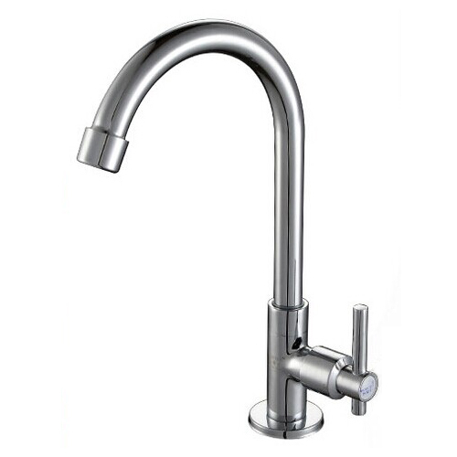 Retail - Luxury Brass Kitchen Cold Water Tap, Chrome Finish Sink Cold Tap, Free Shipping X5034K1