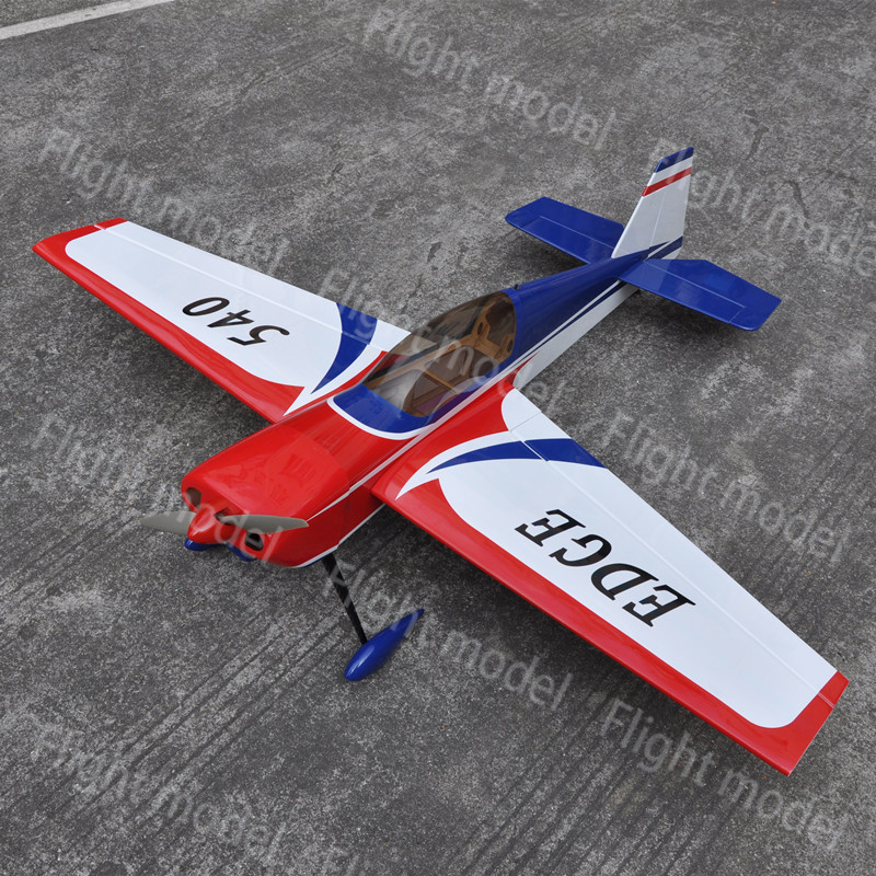 """EDGE 540 49"""" EP Electric RC Airplane Model Wooden ARF 3D Plane US Stock(China (Mainland))"""
