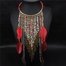 collares etnicos 2015 turkish turco vintage jewelry african boho beads indian feather accessories tribal ethnic turkish jewelry