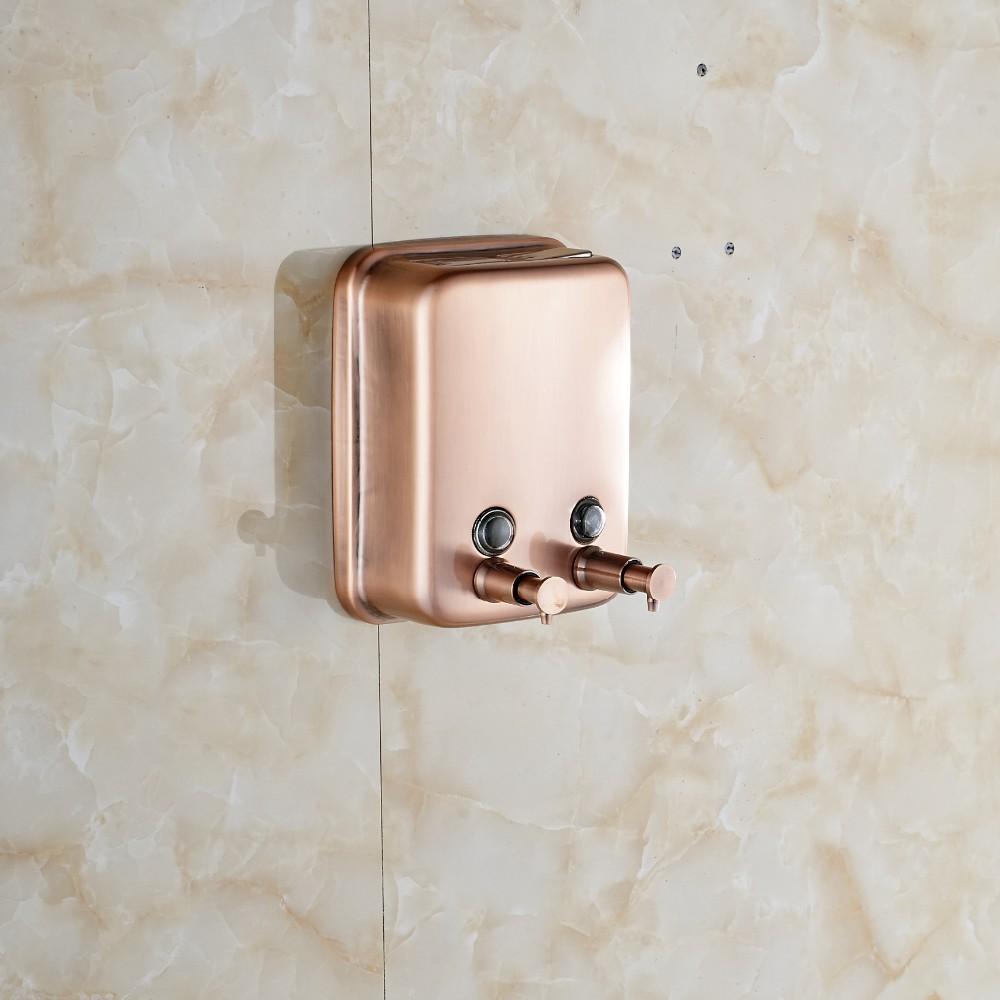 Купить Кухня Ванная Комната Мыла 1000 мл Кухня Ящике из-под мыла Дозатор Античная Медь
