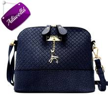 Buy 2017 New Hot Shell Women Messenger Bags High Cross Body Bag PU Leather Mini Female Shoulder Bag Handbags Bolsas Feminina for $6.97 in AliExpress store