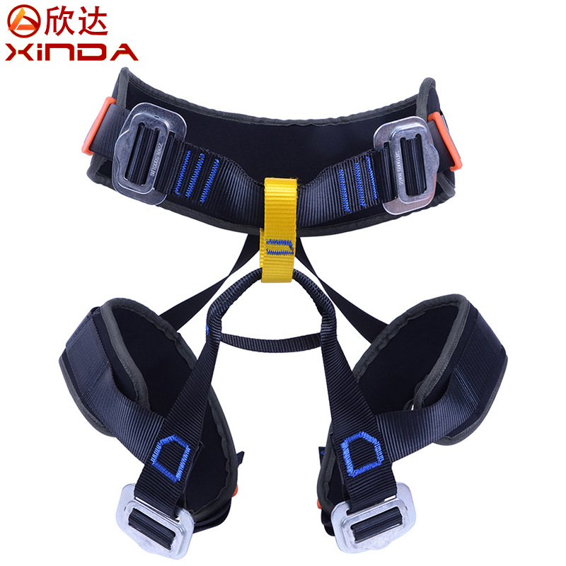 XINDA XD-A9502 Polyester Aluminum Alloy Harness Rock Climbing Protect the Waist Safety Belt Professional Rescue safety Belt<br><br>Aliexpress