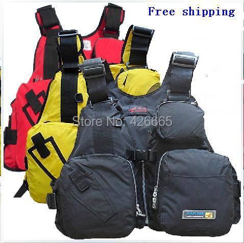Special dual multifunction folding professional fishing vest life jacket life vest Fishing Jacket professional lifejacket(China (Mainland))