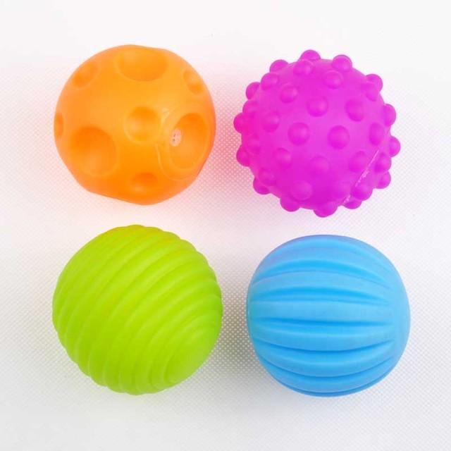 Детские контакт руки бал игрушки детские обучение мяч массаж мягкий мяч для ребенка мягкие шары с коробкой цвета ( WJ250 )