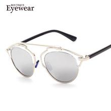 2014 NEW Metal Wrap Cat Eye Glasses 2014 New Vintage Fashion Summer Cool Sunglasses Women Men Brand Designer