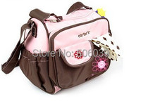 free shipping heart and embroidered mummy bags  baby bag/maternity baby bag for mom bolsa de bebe stroller bag