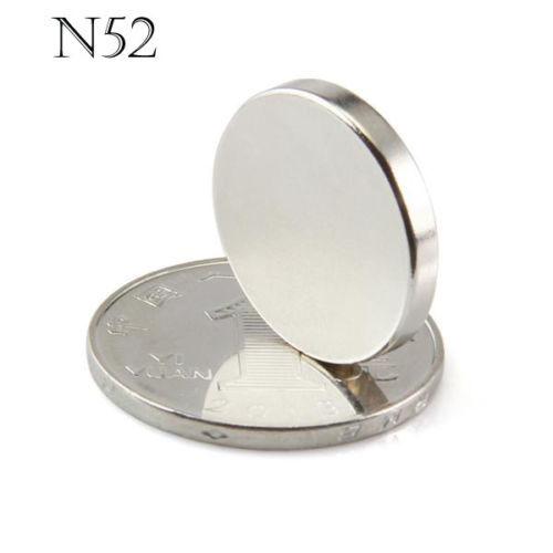 50pcs 20mm x 3mm N52 20*3 Diameter Round Neodymium Permanent Magnets D 20x3 NEW Art Craft Connection free shipping(China (Mainland))