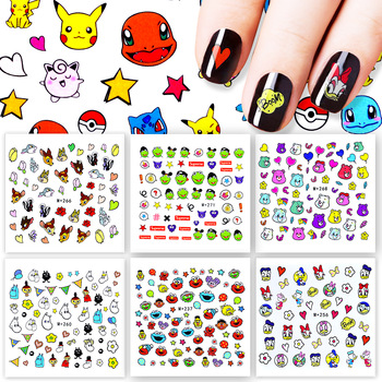 1 Sheet 31 Styles Optional 2017 New Arrival  DIY Nail Sticker Water Transfer Cartoon Design Tips Nail Beauty Manicure Decal