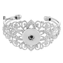 Best seller haute qualité interchangeables accrochage bracelets bijoux pour 18 - 20 mm snaps fit ginger snaps KB0202(China (Mainland))