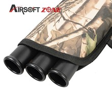 3 Tube Archery Sports Quiver Camouflage Quiver Arrow Holder Arrows Bow Bag Waterproof Caza For Hunting