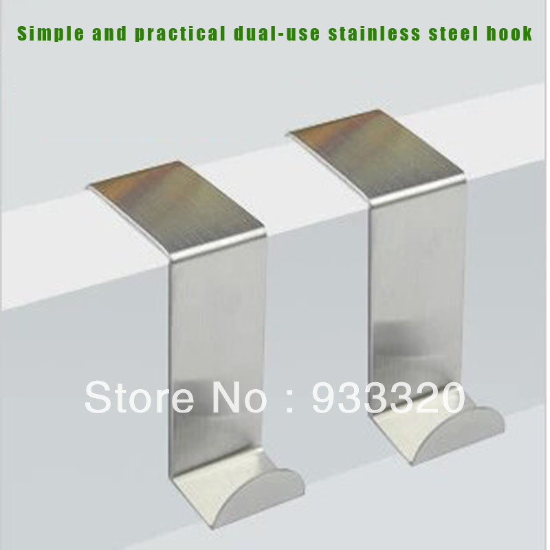 Simple Durable Stainless Steel Door Seamless Clothes Hook