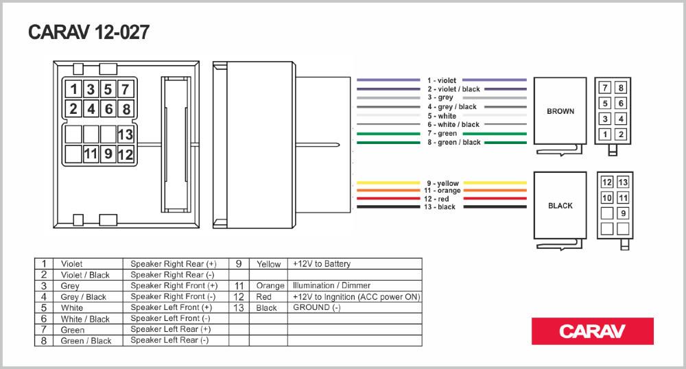 carav 12 027 iso radio adapter for renault fluence megane iii rh dhgate com Dual Radio Wiring Diagram GM Radio Wiring Diagram