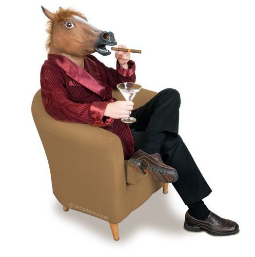 Hot selling Creepy Horse Mask Head Halloween / Christmas Costume Theater Prop Novelty Latex Rubber(China (Mainland))