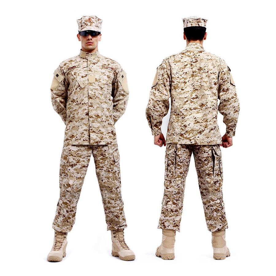 Ejercito Alemán BDU Camuflaje traje Táctico Militar de combate de Airsoft uniforme