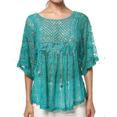 2015 womens fall fashion lace crochet batwing tassel stitching irregular knitted tops shawl sweater coat female burderry women  -  Yiwu KingSun Import&Export Co.Ltd store