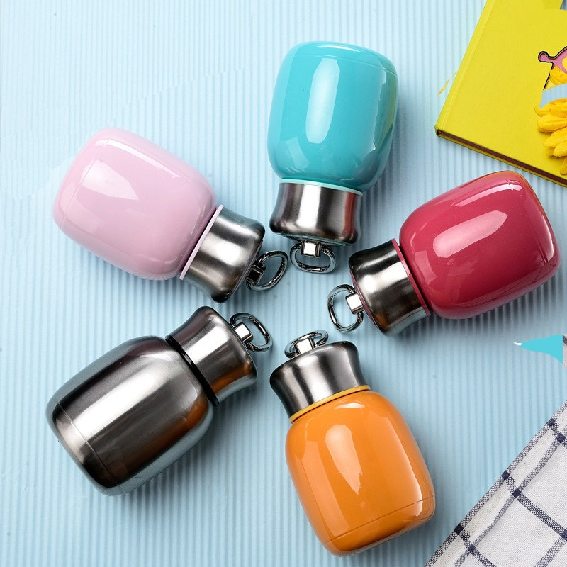 HOT SALE 200ML Mini Cute Coffee Vacuum Flasks Thermos Stainless Steel Travel Drink Water Bottle Thermoses Cups and Mugs3