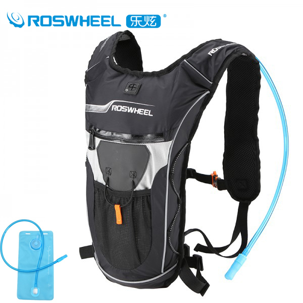 Roswheel Bicycle Hydration Backpack Bike Waterproof Nylon Cycling Backpack Ultralight Sport Riding Travel Mountaineering Bag 9L <br><br>Aliexpress