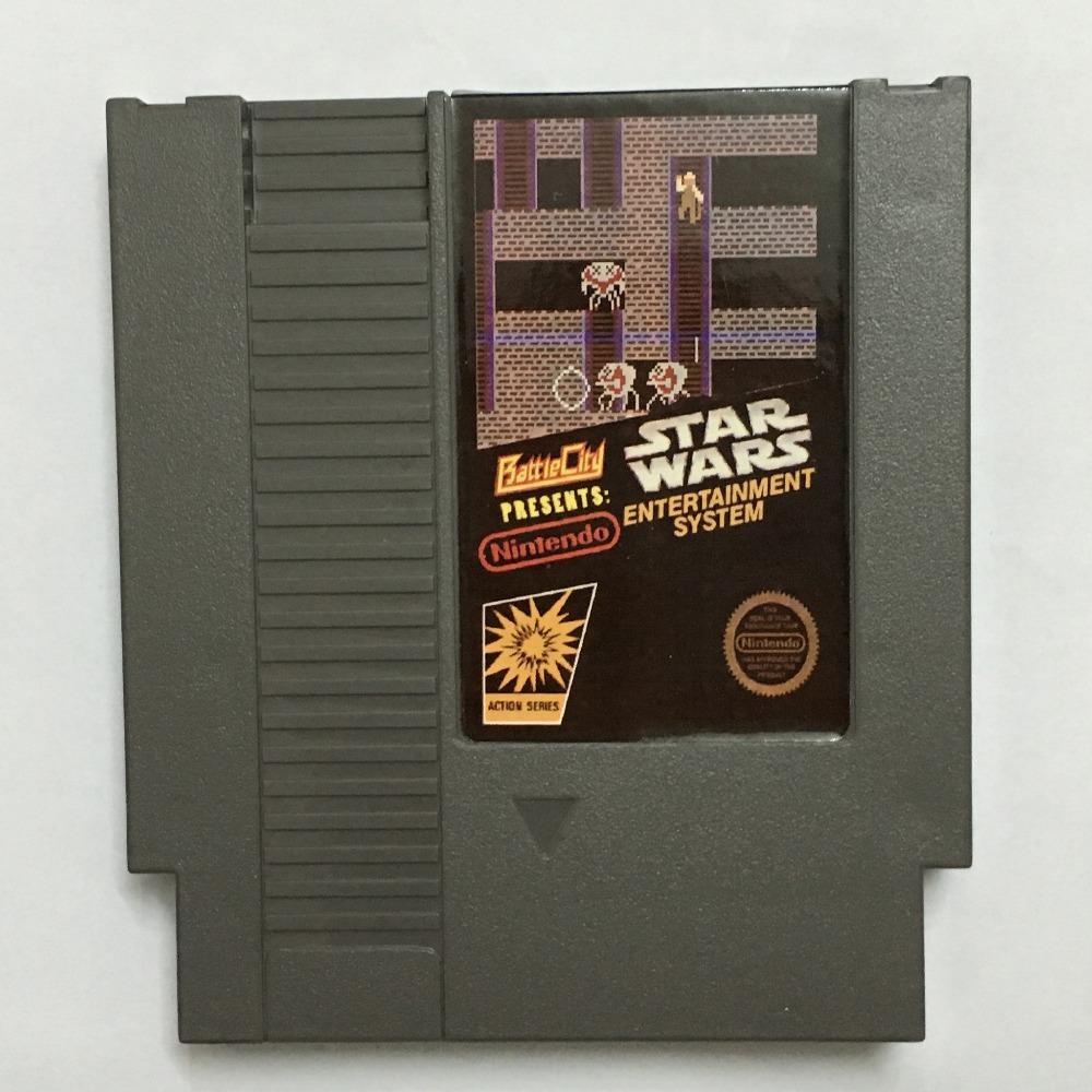 Star Wars 72pin 8bit Game card Free shipping