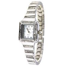 Dmq bracelet watch stainless steel shell surface diamond quartz watch waterproof