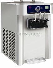 20-24L/h Commercial soft ice cream machine, icecream maker machine, machine icecream(Hong Kong)