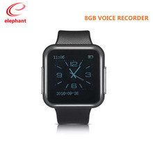 Buy High 8GB wearable sport watch Voice Recorder support 28 languages men women voice recorder MP3 music player WR-19 for $34.99 in AliExpress store