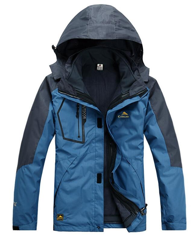 Men Outdoor Hiking Camping Waterproof Coats Jacket Outerwear Hiking Skiing Snowboard Outdoor Jacket(China (Mainland))
