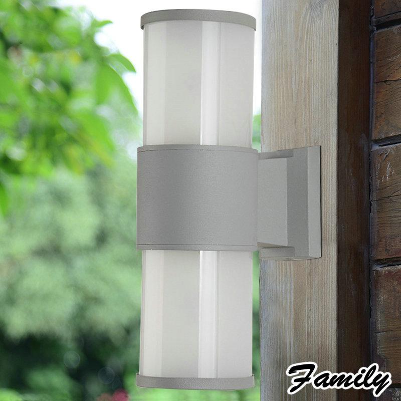 LED outdoor wall stud Double head wall lamp garden light waterproof lamp corridor lights dew lamp outdoor waterproof Wall Sconce<br><br>Aliexpress