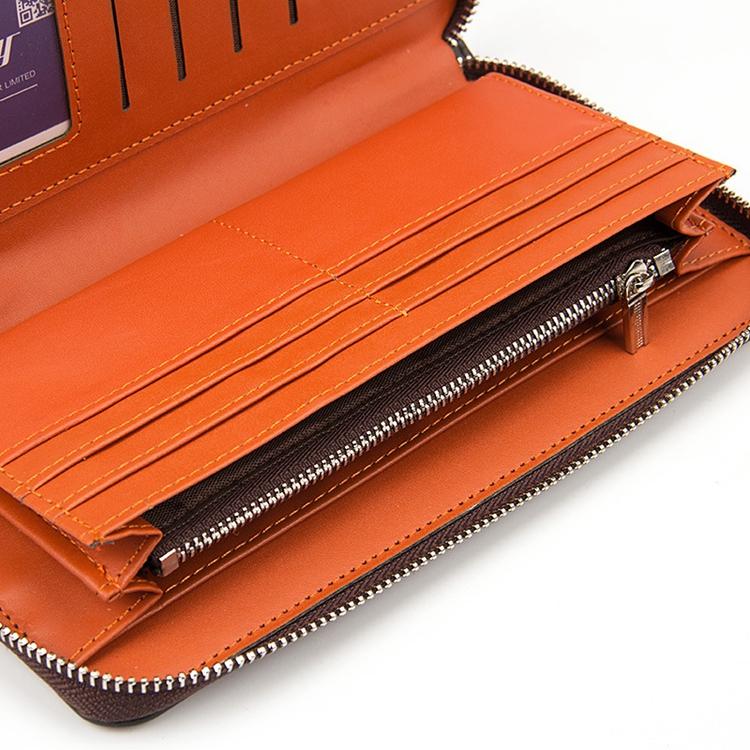Baellerry деловой мужской клатч кожаный длинный держатель для карт кошелек мужчин 3290928659_1672417541