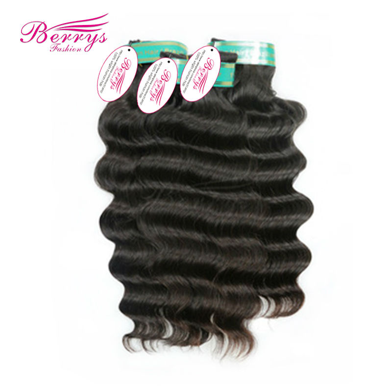 8A bouncy wave Brazilian virgin hair more body wave Non Chemical Processed Cuticle Aligned Brazilian Human hair Weaves(China (Mainland))