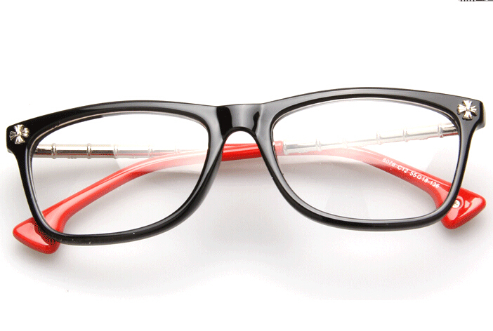 Glasses Frames Colors : Myopia Glasses Frame Women/Men Vintage Copper Eyeglasses ...