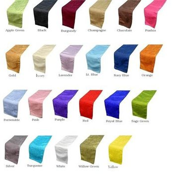 Wedding Satin table runners, table runners for wedding, cheap table runners wedding decoration Hotel table cloth party supplies