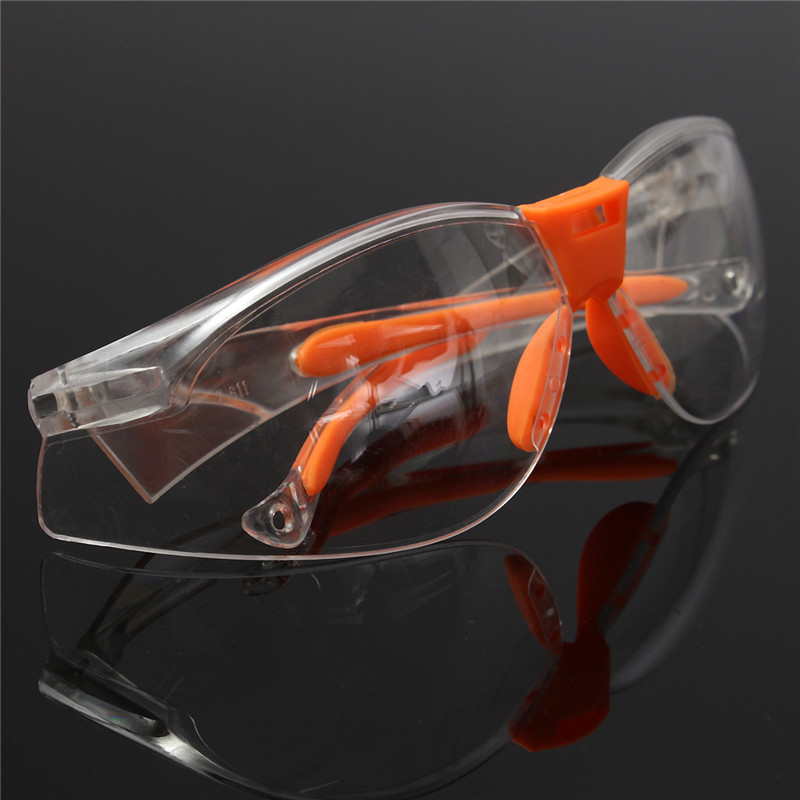 1pcs PC Eye Protector Safety Glasses Labor Sand-proof Striking Resistant Dustproof Security Hot Sale(China (Mainland))