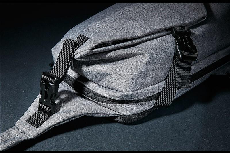 ถูก KALIDI Unisexฟังก์ชั่นโน๊ตบุ๊คหน้าอกสบายๆซิปแล็ปท็อปแท็บเล็ตไหล่messengerกระเป๋าสำหรับapple ipad 1 2 3 4 mini