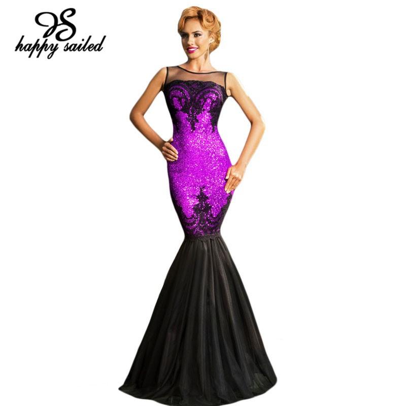 New 2015 luxurious Silver Sequin Applique Mermaid Dress Elegant Long Maxi women formal dresses LC60633 vestidos de noche largos