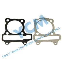 Cylinder Gasket Set Cushion Pad GY6 50cc Scooter Engine Spare Parts 139QMB Moped QGD-GY650(3 sets)