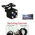 Hot sale LEDS Night Vision Car Rear View Camera Front View camera Switching function Backup reversing